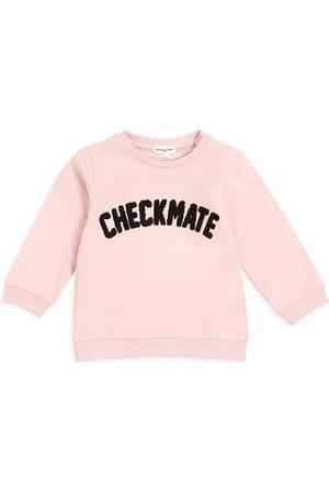 "Miles Baby Baby Girl's Miles Playwear Chess Club ""Checkmates"" Sweatshirt"