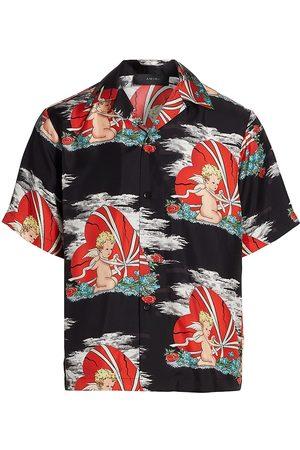 AMIRI Cherub Bowling Shirt