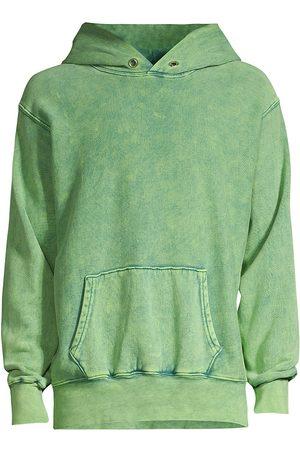 Les Tien Men Denim - Faded Hoodie Sweatshirt