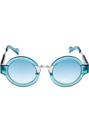 COCO AND BREEZY Men Round - Pram 48MM Round Sunglasses
