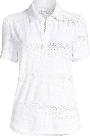 L'Etoile Sport Women Polo Shirts - Lace Polo Shirt