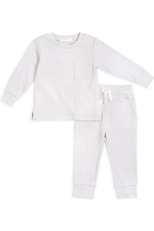 FIRSTS by petit lem Boys Sets - Baby Boy's 2-Piece Petit Lem Firsts Top And Pants Set