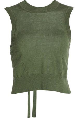 3.1 Phillip Lim Women Sports Equipment - Tie-Back Split Wool Shell