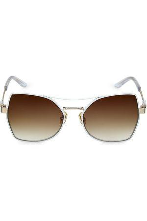 COCO AND BREEZY Men Sunglasses - Stoic 56MM Hexagonal Sunglasses