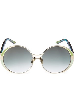 COCO AND BREEZY Grateful 59MM Round Sunglasses