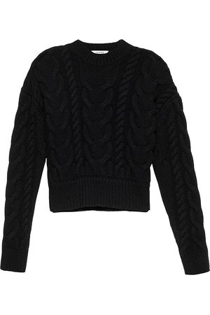 Frame Women Denim - Cable-Knit Wool Sweater