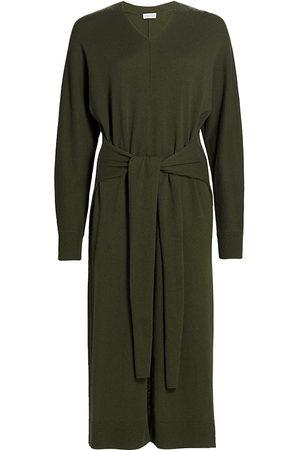 Halston Heritage Women Suits - Harlee Wool-Cashmere Blend Sweaterdress