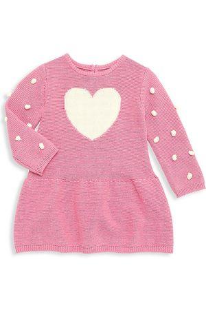 Hatley Girls Casual Dresses - Baby Girl's Lovely Heart Sweater Dress