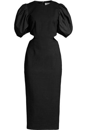 ELLIATT Suffage Puff-Sleeve Dress