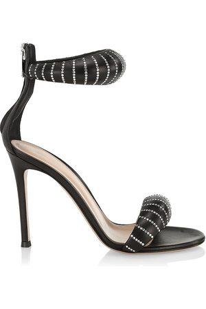Gianvito Rossi Women Heeled Sandals - Bijoux Nappa Leather Sequined Stiletto Sandals