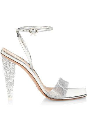 Gianvito Rossi Women Heeled Sandals - Glitter Stiletto Sandals