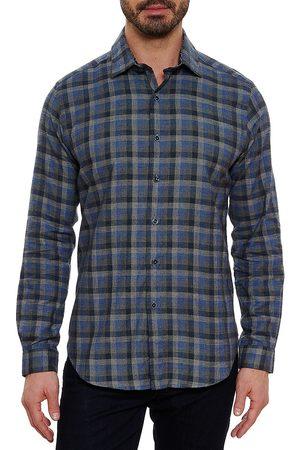 Robert Graham Men Denim - Rosecrans Plaid Button-Down Shirt