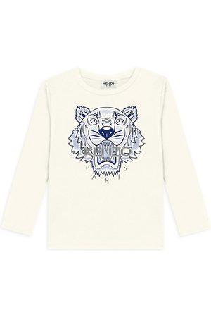Kenzo Little Girl's & Girl's Long-Sleeve Tiger T-Shirt