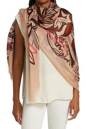 Loro Piana Women Scarves - Fiori Cashmere-Silk Blend Scarf