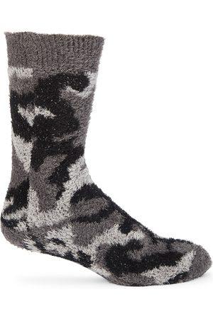 Balenciaga Men Socks - Camouflage Fuzzy Socks