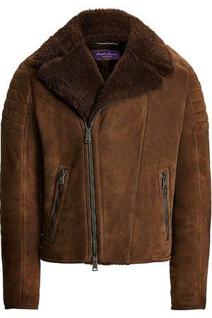 Ralph Lauren Men Leather Jackets - Wexler Biker Jacket