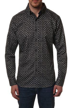 Robert Graham Men Denim - Kafton Patterned Button-Down Shirt