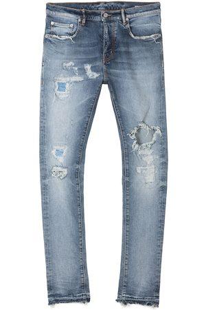 Purple Brand Men Jeans - Distressed Five-Pocket Jeans