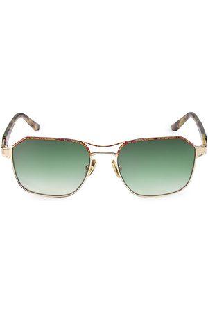 COCO AND BREEZY Men Sunglasses - Christelle 56MM Modified Navigator Sunglasses
