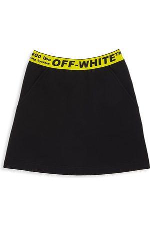 OFF-WHITE Girls Mini Skirts - Little Girl's & Girl's Logo Mini Skirt