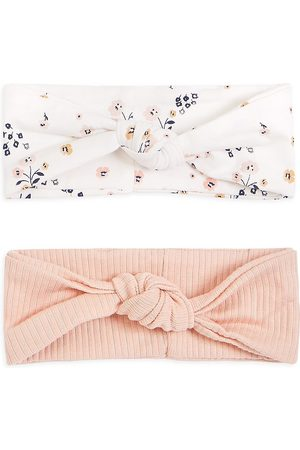 FIRSTS by petit lem Baby Girl's 2-Pack Petit Lem Firsts Headbands