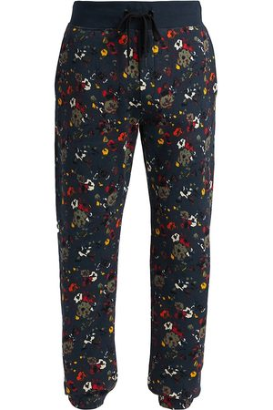 RAG&BONE Men Sweatpants - City Prospect Floral Print Jogger Sweatpants