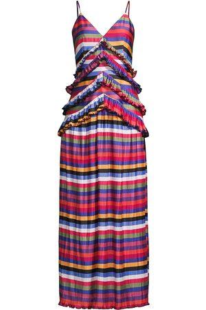 ELLIATT Women Maxi Dresses - Egality Striped Maxi Dress