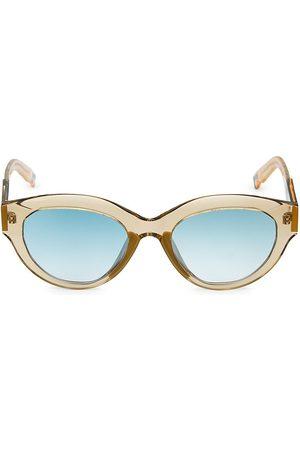 COCO AND BREEZY Peyton 53MM Teardrop Sunglasse