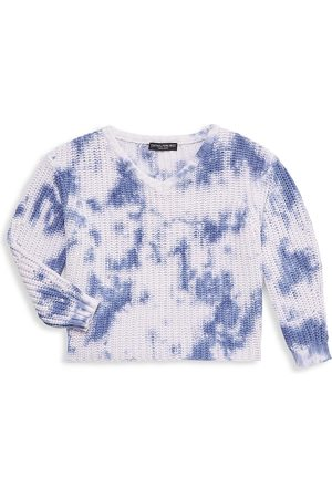 Central Park West Boys Neckties - Girl's Chance Tie-Dye Knit Sweater