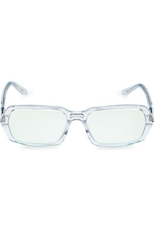 COCO AND BREEZY Admire 53MM Rectangular Light Glasses
