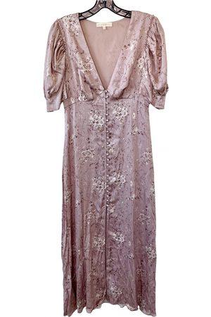 LOVESHACKFANCY Women Maxi Dresses - Silk maxi dress
