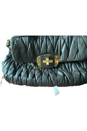 Miu Miu Women Purses - Matelassé leather handbag