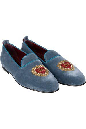 Dolce & Gabbana Men Flat Shoes - Velvet flats