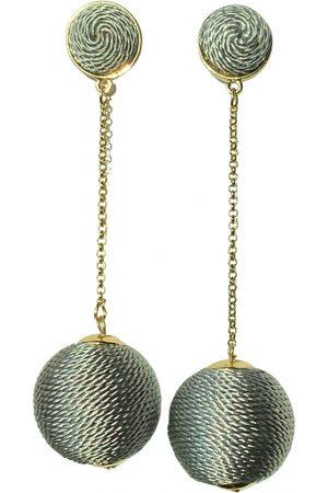 Kenneth Jay Lane Cloth earrings