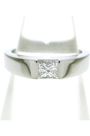 Cartier Women Rings - Tank white gold ring