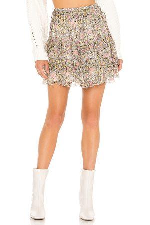 Tularosa Women Mini Skirts - Elodie Mini Skirt in Pink.