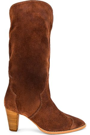 Free People Shayne Tall Boot in Cognac.
