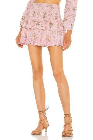 LOVESHACKFANCY Women Mini Skirts - Sowa Skirt in .