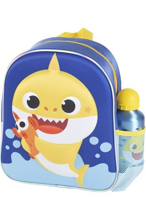 Cerdá Luggage - Baby Shark 3d Backpack With Bottle 400ml 2-6 Years