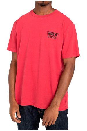 RVCA Clawed Short Sleeve T-shirt L Cranberry