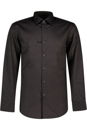 HUGO BOSS Men Business - Jango Shirt 41 Dark Grey
