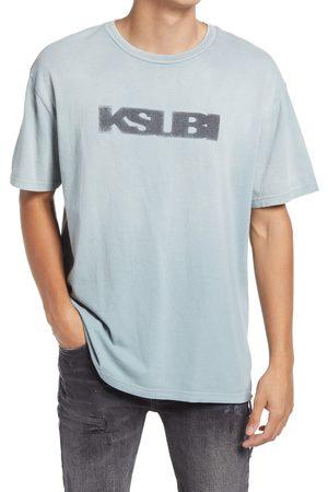 KSUBI Men's Men's Sign Of The Times Biggie Cotton Graphic Tee