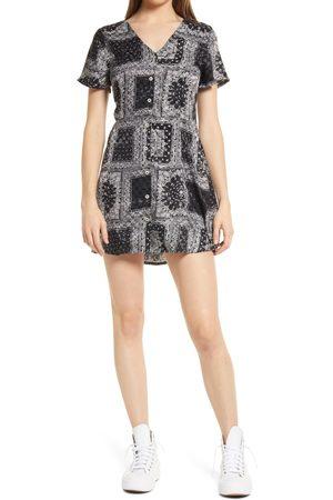RVCA Women's Once More Short Sleeve Minidress