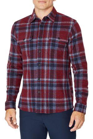 7 Diamonds Men's Generations Plaid Button-Up Shirt