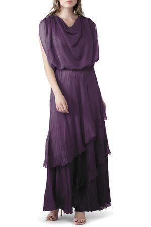 Komarov Women's Tiered Blouson Dress