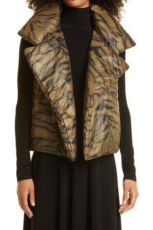 Norma Kamali Women's Sleeveless Sleeping Bag Vest