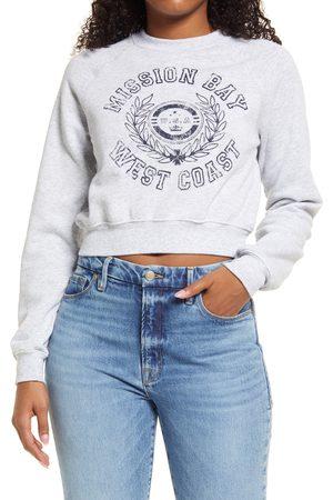 BDG Urban Outfitters Women's Mission Bay Shrunken Sweatshirt