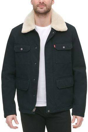 Levi's Men's Corduroy High Pile Fleece Collar Field Coat