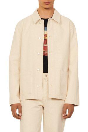 Sandro Men's Worker Organic Cotton Denim Jacket
