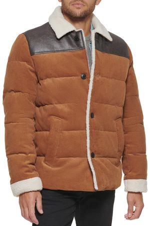 Levi's Men's Corduroy High Pile Fleece Puffer Jacket